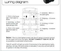 rocker toggle light switch wiring diagram 4 light switch wiring
