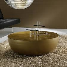 bonaldo planet gold coffee table cocktail table rose gold cocktail table