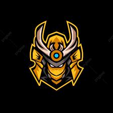 Gaming Logo Design Free Orange Samurai Esports Logo For Gaming Mascot Or Twitch Free