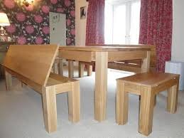 dining table with bench storage wallowaoregon com fashionable intended for designs 18