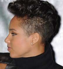 Black Hairstyles Mohawks Short Mohawk Hairstyles With Black Hair Color Also Thick Wavy For