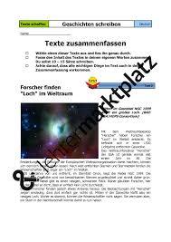 Texte Nacherz Hlen Und Zusammenfassen Deutsch Lehreralltag