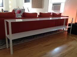 elegant narrow sofa table console entryway also  including