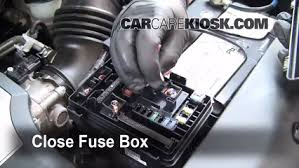 replace a fuse 2007 2013 acura mdx 2009 acura mdx 3 7l v6 6 replace cover secure the cover and test component