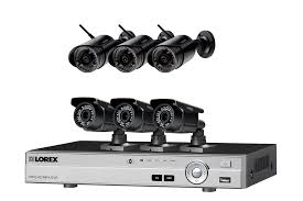 Wireless Home Security System Featuring  Night Vision Security - Exterior surveillance cameras for home