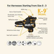 Julius K9 Power Harness Sizing Chart Julius K9 Dog Powerharness