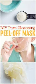 diy l off mask blackhead mask gelatin l off mask diy pore