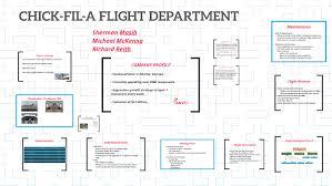 Chick Fil A Flight Department By Sherman Masih On Prezi