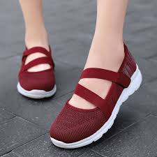 <b>Plus Size 35-42</b> Women Casual Slip on Shoes Breathable ...