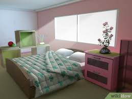 The choice of colors and elements in the bedroom should create a private space that will expresses your inner desires. 3 Ways To Make Your Bedroom Look Girly Wikihow