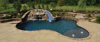 inground pools with waterfalls and slides. Premier Gallery Boscoe S Pools Inground With Waterfalls And Slides