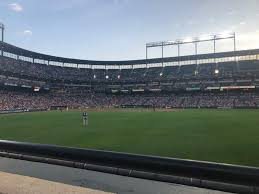 Oriole Park At Camden Yards Section 98 Row 1 Seat 9 10