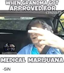 medical marijuana a sin
