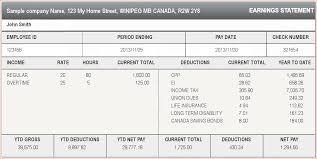 Sample Check Stub Paycheck Stub Generator Excel
