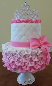 Princess Cake Tutorial So Cute For A Little Girls Bday Kitchen
