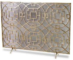 mission fireplace screen oversized fireplace screen western fireplace screen wrought iron fireplace screen