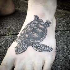 тату черепахи на ступне парня фото рисунки эскизы