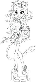 Monster High Coloring Sheets Monster High Printing Pages Baby