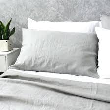 grey linen duvet grey linen bedding sets