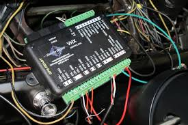 a 1965 ford mustang gets a dakota digital vhx gauge upgrade Old Fuel Gauge Wiring the opposite side of the control box is where the majority of the new wiring, which is routed from the engine bay, for the speed sensor, oil pressure, Fuel Gauge Problems