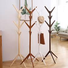 Nordic Wood Coat Rack Clothes Hanger Stand Clothes Hanger