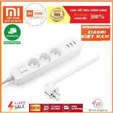 Ổ Cắm Điện Thông Minh Xiaomi Mi Power Strip 3 USB 3 Outlet Global -  NRB4030GL - Hàng Chính Hãng - Bản Quốc Tế - Digiword