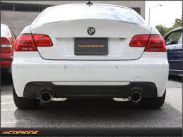 BMW Convertible bmw 335i coupe m sport for sale : BMW 3 Series M-Tech Carbon Fiber Dual Exhaust Bumper Diffuser ...