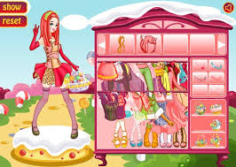 cute candy doll dress up