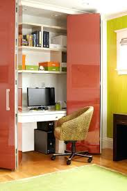 creating a home office. small apartment design ideas create a home office in closet colorful doorscreating creating space