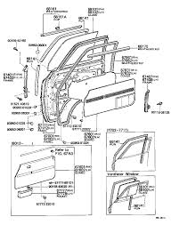 88 4runner wiring diagram as well 6751 front door panel glass moreover corolla early distributor lead
