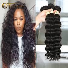 Peruvian Wavy Hairstyles Qt Hair Company 3pcs Peruvian Virgin Hair Loose Deep Peruvian