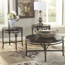 Three Piece Living Room Table Set Loon Peak Cole 3 Piece Coffee Table Set Reviews Wayfair