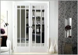 indoor french doors interior with glass inserts door comfy double