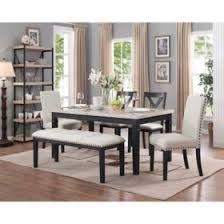 dining room furniture. Exellent Furniture Bradley 6Piece Dining Set Table 2 Upholstered Side Chairs X Inside Room Furniture T