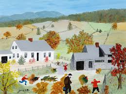 anna mary robertson grandma moses catching the turkey