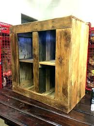 rustic liquor cabinet wood lovely plans diy
