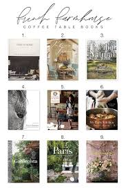 coffee table books from our cottage to