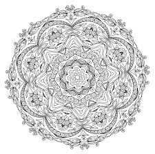 5 Free Printable Coloring Pages Mandala Templates Mental Health And