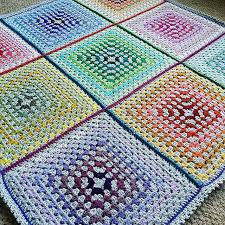 15 Adorable Crochet Baby Blanket Patterns & Colorful Granny Square Crochet Blanket Adamdwight.com