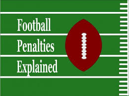 High School Football Referee Signals Chart Nfl Football Penalties Explained Howtheyplay