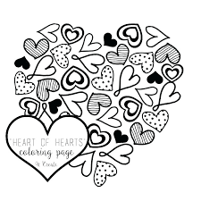 Heart Coloring Pages Printable Love Coloring Pages To Print