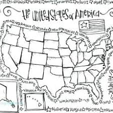 Ingenious Inspiration Ideas United States Map Coloring Page
