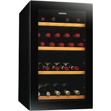 Cabinet With Wine Cooler Vintec V30sgmebk 35 Bottle Wine Cooler At The Good Guys