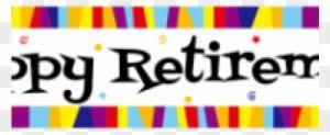 retirement banner clipart retirement clipart transparent png clipart images free download