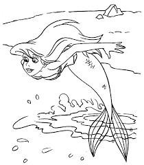 Ariel Disegni Per Bambini Da Colorare