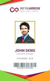 Photo Id Template Free Download Staff Id Badge Template Staff Id Badge Template Dark Id Card Free
