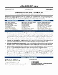 Supply Chain Cover Letter Logistics Cover Letters Sample Awesome Logistics Manager Resume