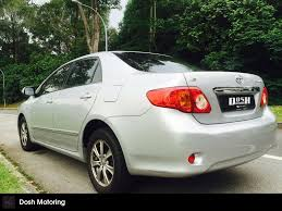 Buy Used TOYOTA COROLLA ALTIS 1.6 AUTO Car in Singapore@$63,800 ...
