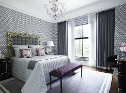 ... Perfect use of curtains in the exquisite bedroom [Design: Greg Natale]