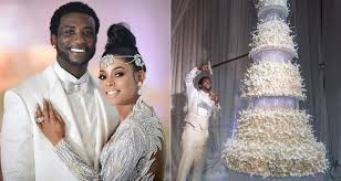 Check Out Gucci Mane And Keyshia Kaoirs 100k Giant Wedding Cake